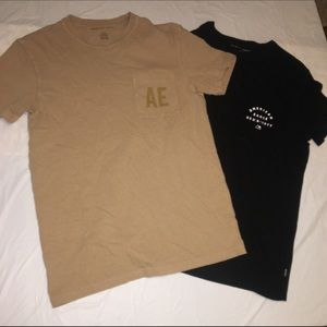 American Eagle cotton T-shirt's (2)